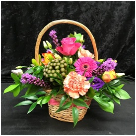 Vibrant Basket Gift (Florist Choice)