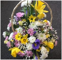 Summery Mixed Basket (Florist Choice)