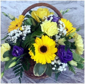 Bright Basket (Florist Choice)