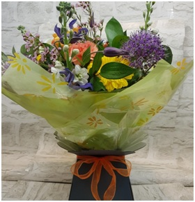 Colourful Flowers in a Box (Florist Choice)