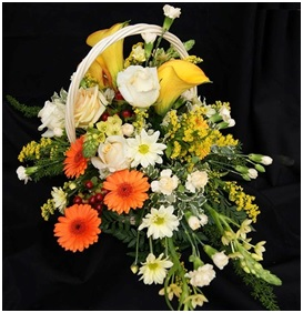 Mixed Seasonal Basket (Florist Choice)