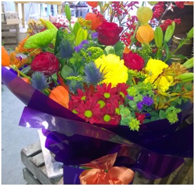 Nice Bright Bouquet (Florist Choice)