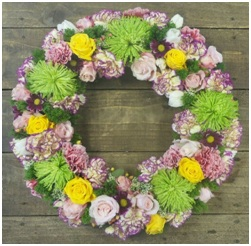 Funeral Wreath (Contact Florist to Order)