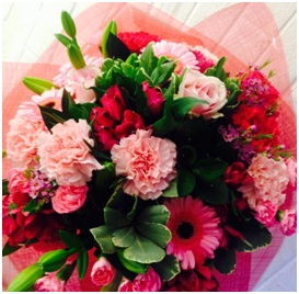 Pink & Red Mix (Florist Choice)