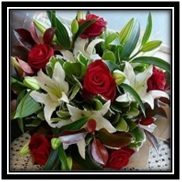 Red Roses and Lilys