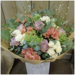 Hand Tied Box Bouquets