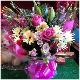 Large Aqua Bouquet (Florist Choice)