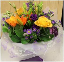Bright Hand Tied Bouquet (Florist Choice)