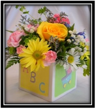 Cube Arrangement for a Baby