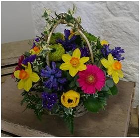 Bright Basket (Florist Choice)