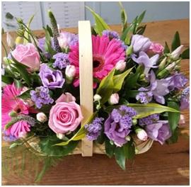 Seasonal Trug Basket (Florist Choice)