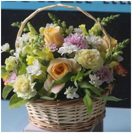 Country Basket of Love (Florist Choice)