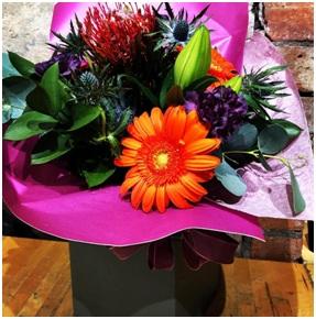 Bright Mixed Aqua (Florist Choice)