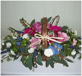 Country Garden Trug (Florist Choice)