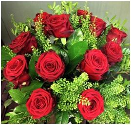 All of a Flutter Roses