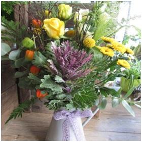 Country Style Jug Arrangement (Florist Choice)