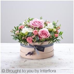 Sweet Adoration Hat Box (Florist Choice)