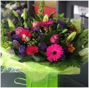 Bright Aqua BQ (Florist Choice)