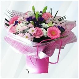 Pink Hand Tie (Florist Choice)