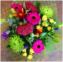 Vibrant and Funky (Florist Choice)