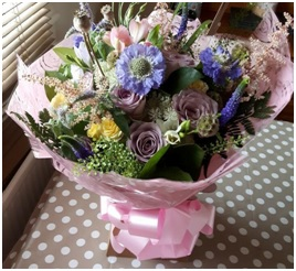 Large Aqua Bouquet (Florist Choice)