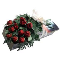 WRF78 - Classic Romance: 1 Dozen Long Stem Roses