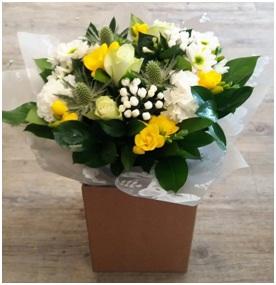 Sunshine Aqua Bouquet