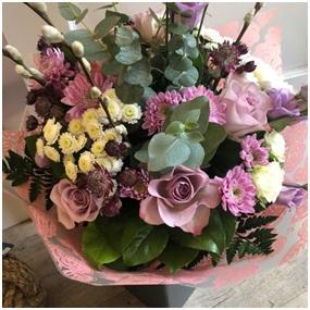 Memory Lane Rose Aqua Bouquet