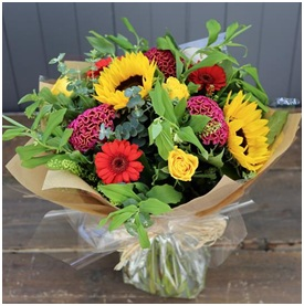 Autumn Meadow Hand Tied