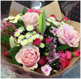 Pink Aqua Bouquet (Florist Choice)