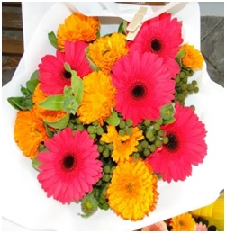 Bouquet of Mixed Gerberas (Florist Choice)