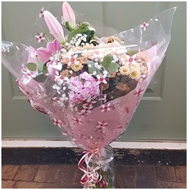 Soft Pink Bunch (Florist Choice)