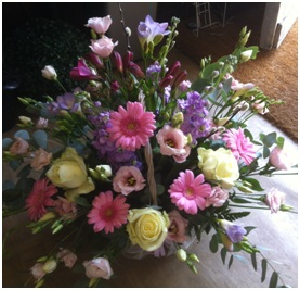 Large Pretty Basket Arrangement