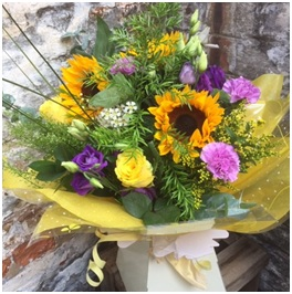 Sunshine Hand Tie (Florist Choice)