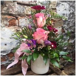 Ceramic Flower Arrangement (Florist Choice)