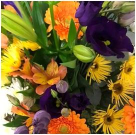 Autumn Coloured Bouquet (Florist Choice)