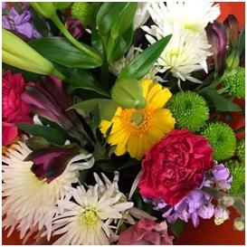 Seasonal Vibrant Mixed Bouquet (Florist Choice)
