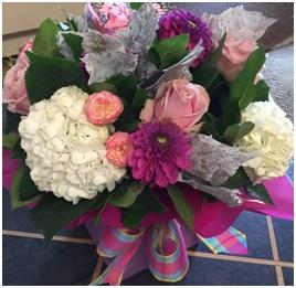 Soft Coloured Bouquet (Florist Choice)
