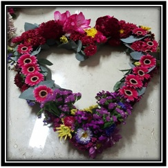 Heart (Contact Florist for Prices)