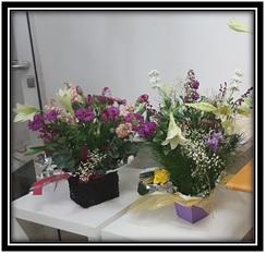 Aqua Boxed Bouquet