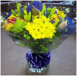 Aqua Bouquet (Bright)