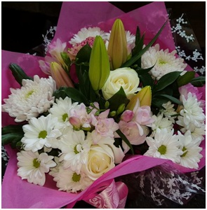 Pink and White Mix (Florist Choice)