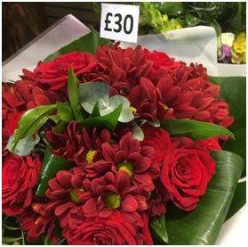 Red Bouquet (Florist Choice)