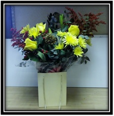 Mixed Bag Arrangement of Flowers