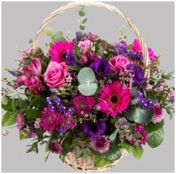 Jewel Bright Basket (Florist Choice)