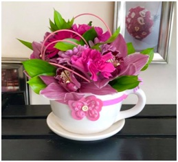 Tea Cup Arrangement (Florist Choice)