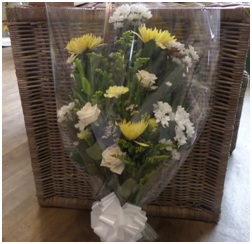 Florist Choice Basket (Size and Colours Vary)