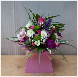Singapore Orchid Box Arrangement (Florist Choice)