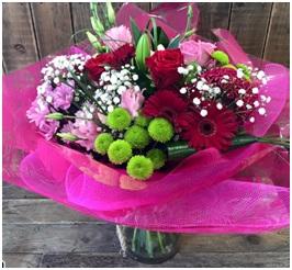 Mixed Florist Choice Vase