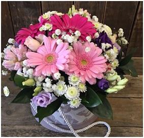 Hatbox Surprise Arrangement (Florist Choice)